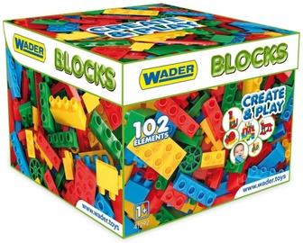 Wader Blocks Create&Play In Carton Box 102pcs 41292