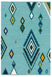 Ковер 4Living Illuusia Turquoise, многоцветный, 140x200 см