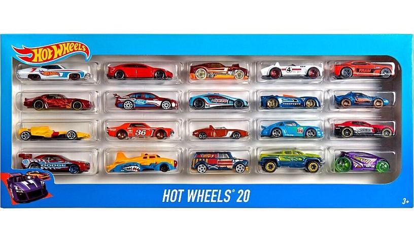 Mattel Hot Wheels A Basic Car 20-Pack H7045