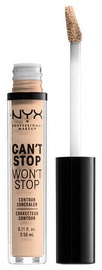 NYX Can't Stop Won't Stop Contour Concealer 3.5ml Vanilla