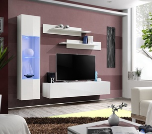 Комплект мебели для гостиной ASM Fly G Horizontal Glass White/White Gloss
