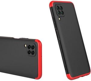 Чехол GKK 360 Protection Case For Huawei P40 Lite Black/Red