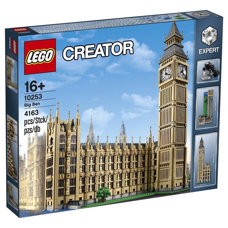 Конструктор LEGO Creator Big Ben 10253 10253, 4163 шт.