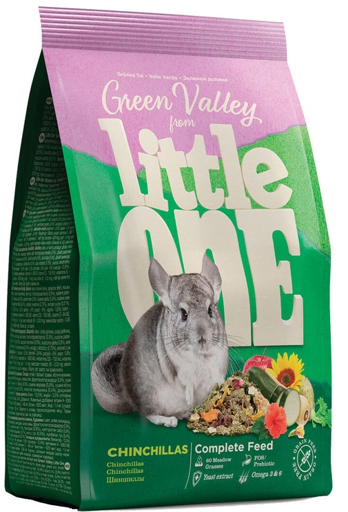 Mealberry Little One Green Valley For Chinchillas 750g