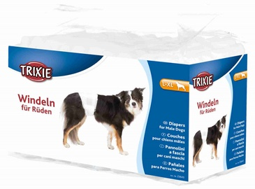Trixie 23643 Diapers For Male Dogs L-XL 12pcs