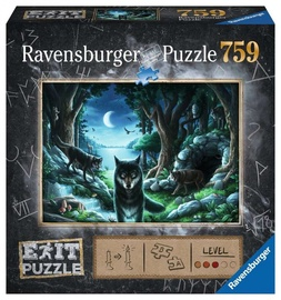 Ravensburger Puzzle Exit Wolf 759pcs 15028