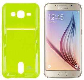 Roar Pocket Jelly Case For Samsung G920 Galaxy S6 Light Green