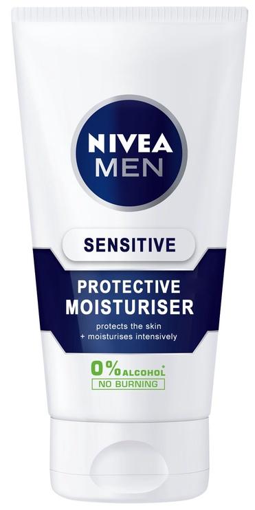 Näokreem Nivea Men Sensitive Moisturizing Protector 0% Alcohol SPF15, 75 ml