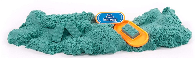 Kinetinis smėlis Relevant Play Mad Mattr Quantum Builders Pack Turquoise, 283 g