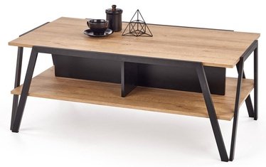 Kohvilaud Halmar Volta Oak/Black, 1130x630x450 mm