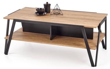 Kavos staliukas Halmar Volta Oak/Black, 1130x630x450 mm