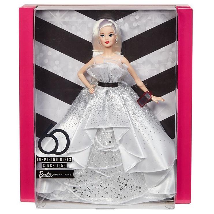 Mattel Barbie Signature 60th Anniversary Doll FXD88