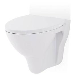 Sienas tualete Cersanit Mito Red TS501-009, ar vāku, 355x520 mm