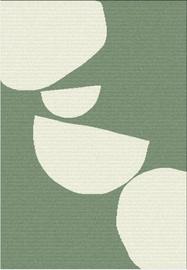 Ковер Domoletti Royal Retro ROR/A467/AB56, зеленый, 170 см x 120 см