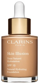 Clarins Skin Illusion Natural Hydrating Foundation SFP15 30ml 110