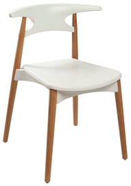 Home4you Chair Aries White 27757