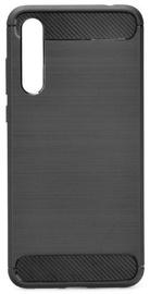 TakeMe Carbon Effect Back Case For Samsung Galaxy J6 Plus J610 Black