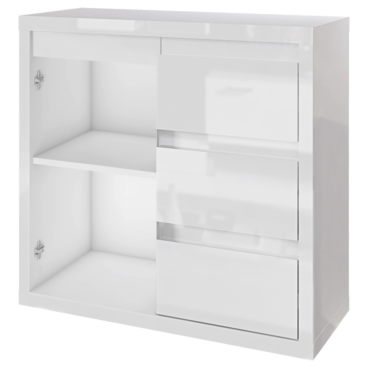 Tuckano Glance Chest Of Drawers 910x780x400mm White