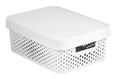 Curver Infinity Perforated Box 11l White