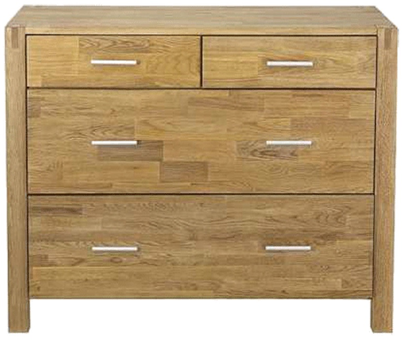 Home4you Chest Of Drawers Chicago New 105x45x84cm Oak