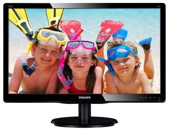 "Monitorius Philips 200V4QSBR, 19.5"", 8.5 ms"