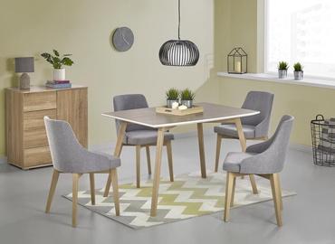 Pusdienu galds Halmar Petrus Oak/White, 1200x850x750 mm