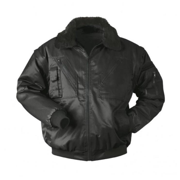 SN Winter Pilot Jacket Black M