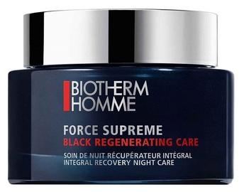 Näokreem Biotherm Force Supreme Black Night Gel 75ml