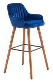 Halmar H93 Bar Stool Dark Blue