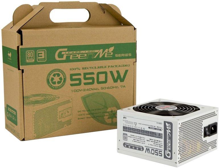 In Win GreenMe PSU ATX2.31 85+ 550W PFC