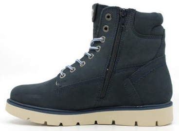 Wrangler Tucson Lady Nubuck Fur Leather Winter Boots Jeans Navy 36