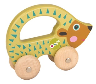 Oops Wooden Hand Running Toy Hedgehog