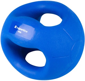 inSPORTline Medicine Ball With Grips Grab Me 4kg