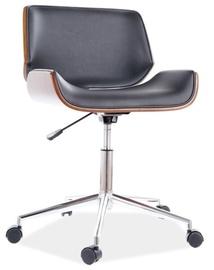 Офисный стул Signal Meble Jukon, коричневый/черный