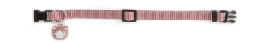 Kaķa kakla siksniņa Beeztees Uni 30x1cm, rozā