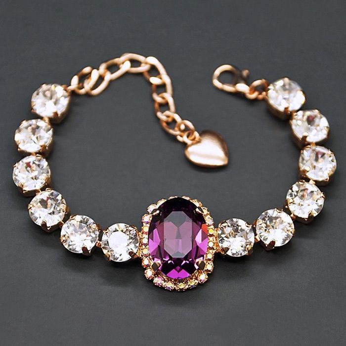 Diamond Sky Bracelet Sofia II With Crystals From Swarovski