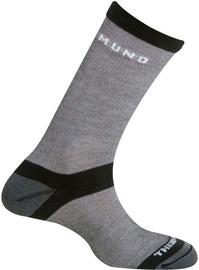 Носки Mund Socks, черный/серый, 34