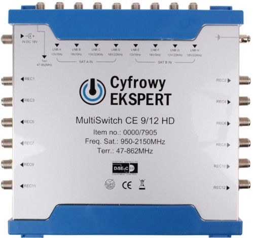 TechniSat MultiSwitch CE 9/12 HD