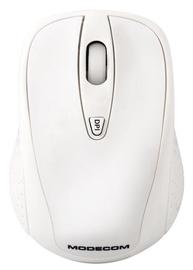 Kompiuterio pelė Modecom WM4 White, bevielė, optinė