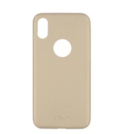 Tellur Slim Back Case For Apple iPhone X/XS Gold