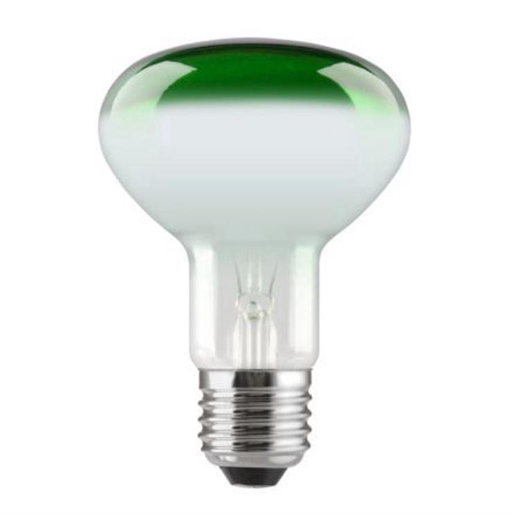 Spuldze ar reflektoru Tungsram, 60W, zaļa