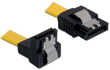 Delock Cable SATA / SATA Yellow 0.30 m