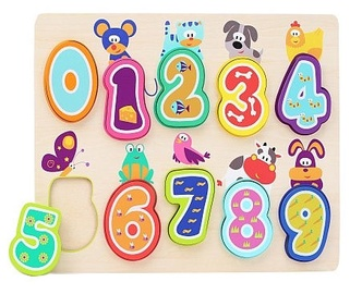 Brimarex Learning To Count Puzzle 10pcs 1581877