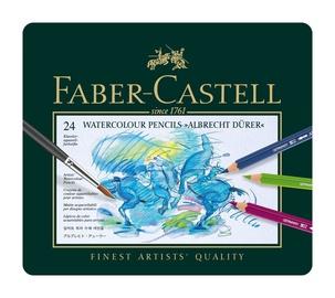 Цветные карандаши Faber Castell Albrecht Durer Watercolour Pencil, 24 шт.