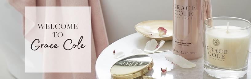 Grace Cole Hand & Nail Cream 30ml Nectarine Blossom & Grapefruit