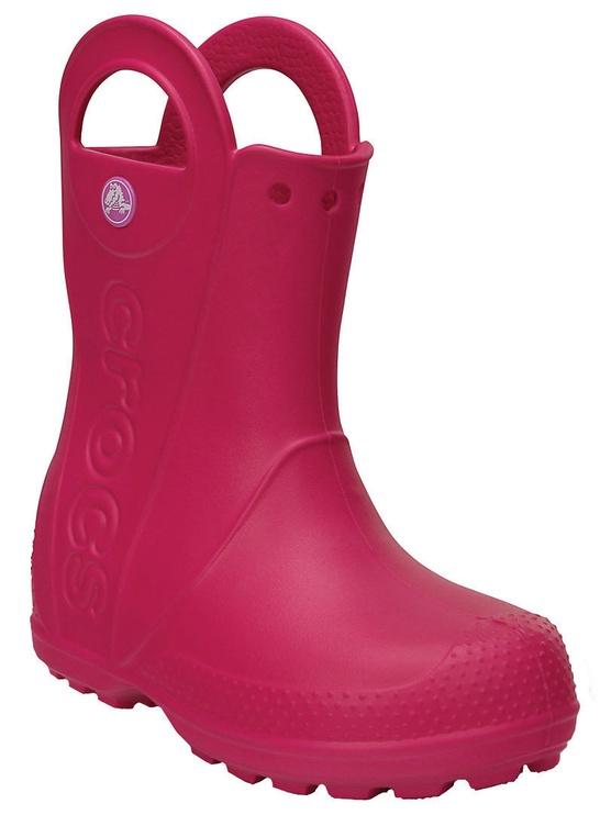 Crocs Kids' Handle It Rain Boot 12803-6X0 30-31