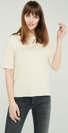 Audimas Lightweight Soft T-Shirt With Extended Back White M