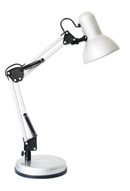 Galda lampa HD2429A 25W E27, balta