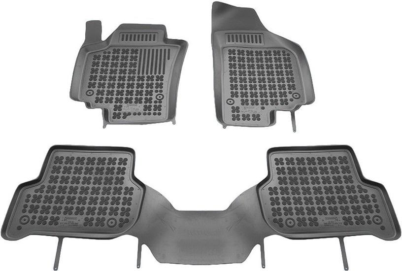 Gumijas automašīnas paklājs REZAW-PLAST Seat Altea XL 2006, 3 gab.