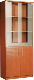 MN DOK Office Cabinet Brown